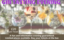 Gin Tasting Event
