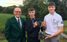 HHDUGC Junior Foursomes Winners
